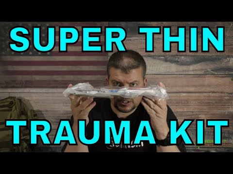 Super Thin Trauma Kit For Behind A Plate Carrier