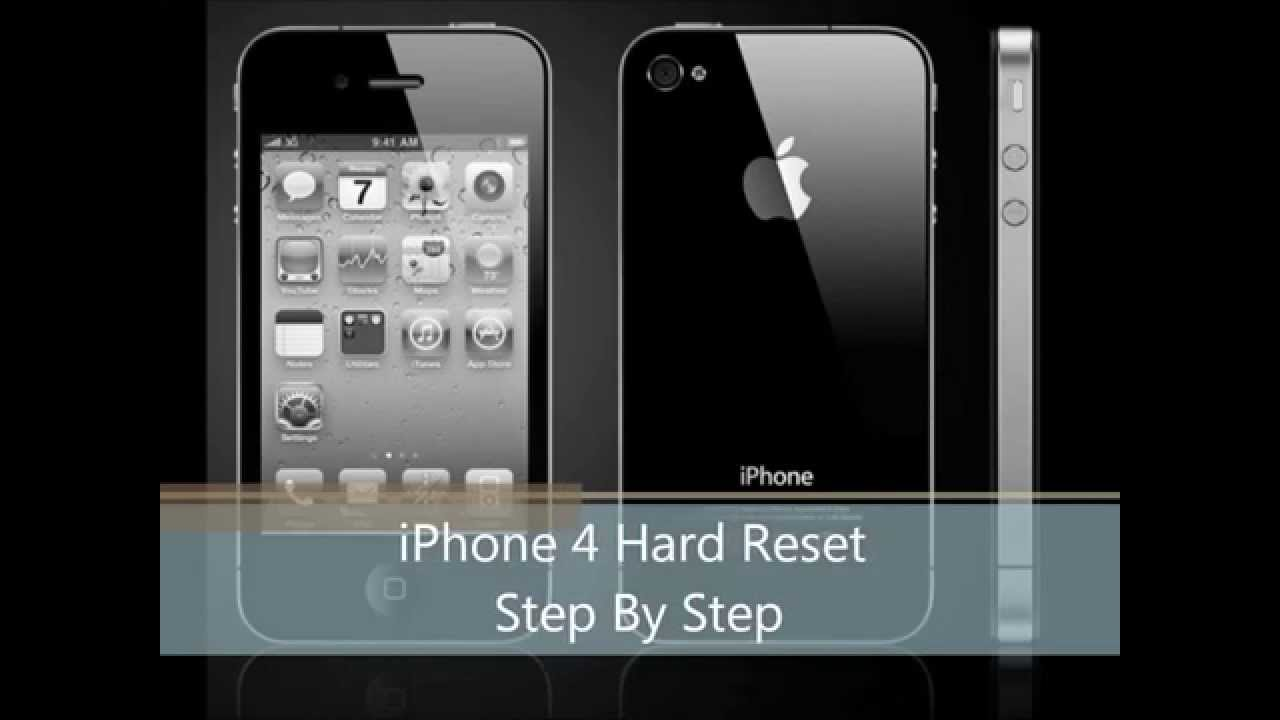 reset iphone 4 how to reset iphone 4 4s step by step 12868