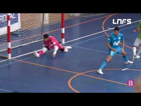 Visit Calvià Hidrobal 1-3 Inter FS B Jornada 1 Segunda División Temp 21/22