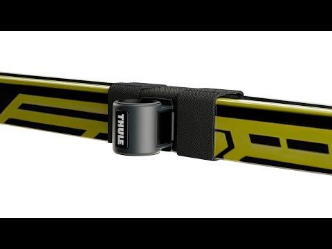 THULE SkiClick - Smart, space-saving ski transport