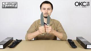 video - Nože ONTARIO RAT s pevnou čepelí