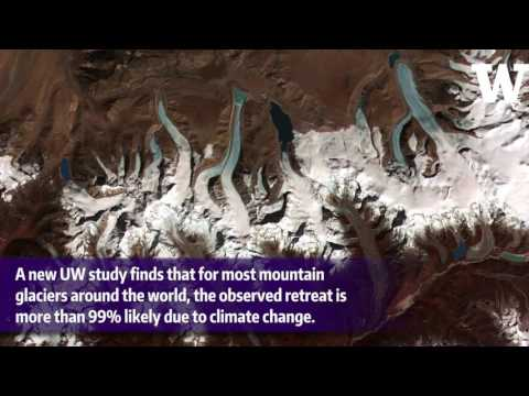 Retreating mountain glaciers are 'categorical evidence' of climate change