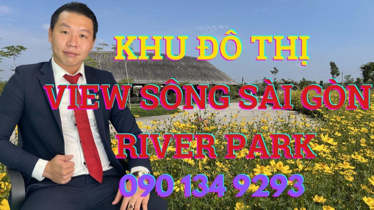 Bán nền đất 100m2 đường 22m dự án Sài Gòn Riverpark video