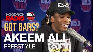 Got Bars: Akeem Ali Exclusive Freestyle with DJ Scream on Hoodrich Radio!