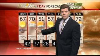 Augusta, GA weather forecast for Monday 11/11/13 and the week ahead