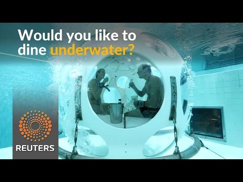 Fancy a gourmet meal underwater?