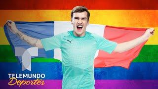 Antoine Griezmann en portada de revista gay francesa | Telemundo Deportes