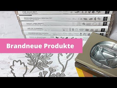 Brandneue Stampin' Up! Produkte--meine Vorbestellung mit Tipps und Tricks--DIY