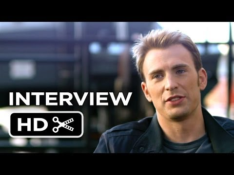 Captain America: The Winter Soldier Interview - Chris Evans (2014) - Marvel Movie HD