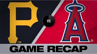 Pujols leads Angels on record-breaking night | Pirates-Angels Game Highlights 8/14/19