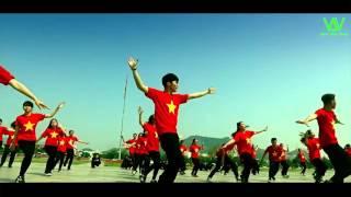 Tiến Lên Việt Nam Ơi - Sơn Tùng M-TP | New Way Crew [ OFFICIAL FLASHMOB VIDEO ]