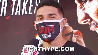 """TEOFIMO LOPEZ FINAL WORDS FOR LOMACHENKO; REACTS TO """"BAD BLOOD"""" FACE OFF: """"I'MA WHOOP HIS ASS"""""""