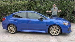 The $50,000 Subaru WRX STI Type RA Is the Most Expensive Subaru Ever