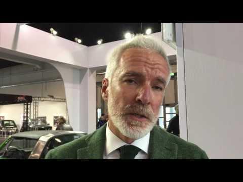 Porsche ad Auto e Moto d'Epoca 2016   Intervista a Pietro Innocenti