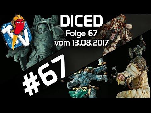 DICED - Die Tabletopshow auf Rocketbeans TV #67 | Runewars | Warhammer 40K | Game of Thrones | DICED