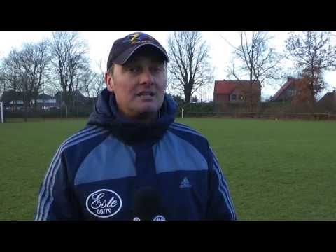 Rossen Atanassov (Trainer SV Este 06/70) und Jean-Pierre Richter (Trainer FC Süderelbe) - Die Stimmen zum Spiel (SV Este 06/70 - FC Süderelbe, ODDSET-Pokal, Achtelfinale) | ELBKICK.TV