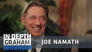 Joe Namath: Johnny Carson was a mean drunk