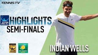 Federer, Del Potro Into Indian Wells Final