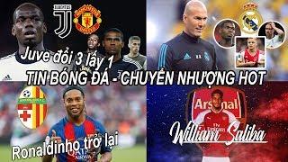 Tin bóng đá|Chuyển nhượng 19/07|MU nhận đề nghị mới nhất từ Juve cho Pogba, Arsenal có Saliba #tinMU