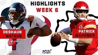 Deshaun Watson vs. Patrick Mahomes | NFL 2019 Highlights
