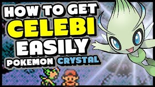 HOW TO GET CELEBI IN POKEMON CRYSTAL - Pokemon Crystal Virtual Console GS Ball Guide