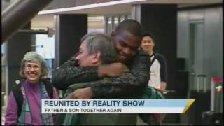 Reality Show Reunites Father and Son