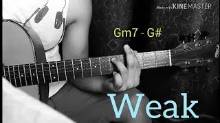 WEAK - SWV Michael Pangilinan (Guitar Tutorial)