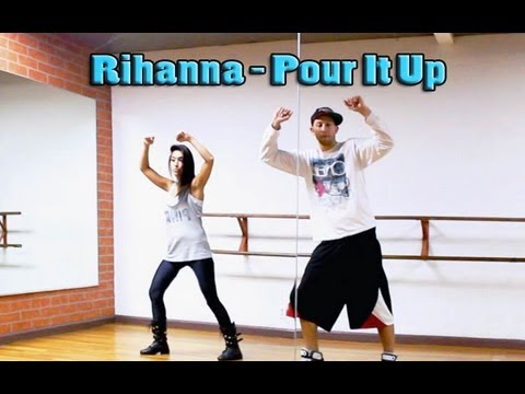 Baixar POUR IT UP - Rihanna Dance TUTORIAL | Choreography by @MattSteffanina (@DanceVIDSlive)