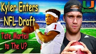 Kyler Murray Finessed Oakland + Officially Declares For NFL Draft! Tate Martell Visits Miami!