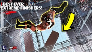 Best ever extreme FINISHERS in WWE 2K20