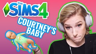 A SMOSH BABY IS BORN   Courtney Plays Sims 4 — Pt. 4