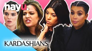 Best Kardashian Fights Part 2 | Keeping Up With The Kardashians