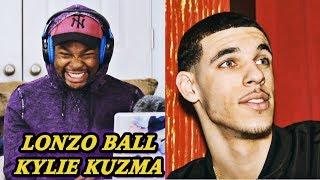Kevin Durant Reacts to Lonzo Ball - Kylie Kuzma (Kyle Kuzma Diss Track)   Jamal_Haki