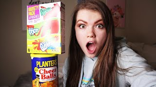Trying My Favorite Childhood Foods I Aud Vlogs