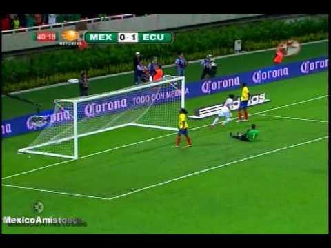 Mexico vs Ecuador 1-2 AMISTOSO Estadio Omnilife [04/09/10]