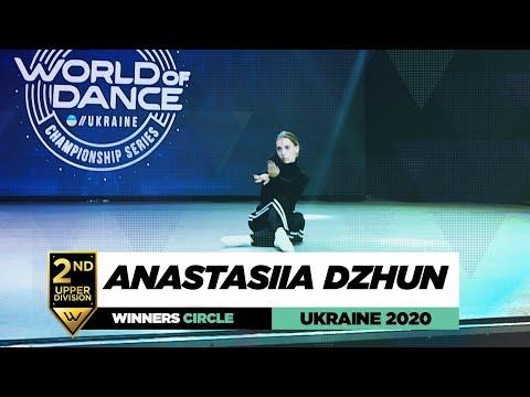 Anastasiia Dzhun | 2nd Place Upper | Winners Circle | World of Dance Ukraine 2020 | #WODUA20