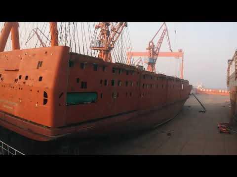 Biggest civilian hospital ship newbuilding nears delivery