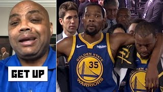 Charles Barkley blames the Warriors for Kevin Durant's Achilles injury | Get Up
