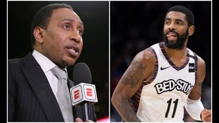Stephen A Smith says Kyrie Irving should retire