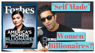 "The Media's Portrayal of ""Self Made"" Women Billionaires"