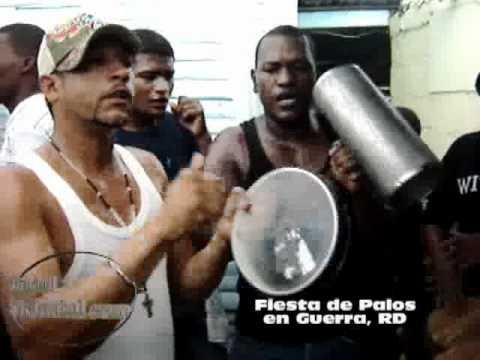 Fiesta de Palos , en Guerra, República Dominicana.