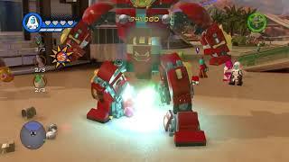 All Avengers: Infinity War Movie DLC Characters   Free Roam - LEGO Marvel Super Heroes 2