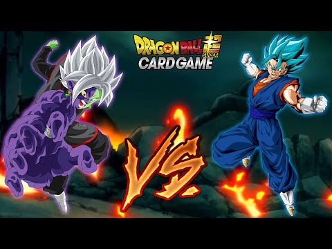 Zamasu Vs Vegito Dragon Ball Super Card Game Battle!