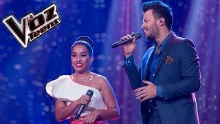 Gusi y Jennifer cantan 'Como me duele'   Final   La Voz Teens Colombia 2016