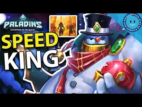 BOMB KING SNOWBALL BUILD! TRIPLE KILLS ALL DAY! Royal Subjects Bomb King (Paladins Gameplay)