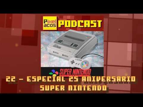 Pixelacos Podcast – Programa 22 – 25 Aniversario Super Nintendo