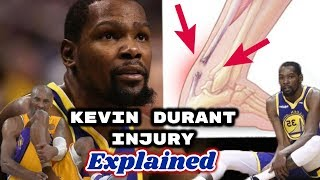 Kevin Durant INJURY Explained | Torn Achilles | Mga NBA Players na dumanas din nito