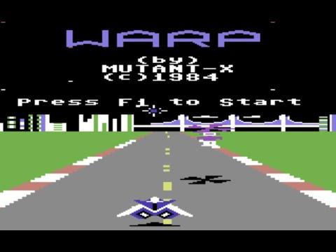 RETROJuegos Clásico - Warp © 1984 Creative Software - Commodore 64