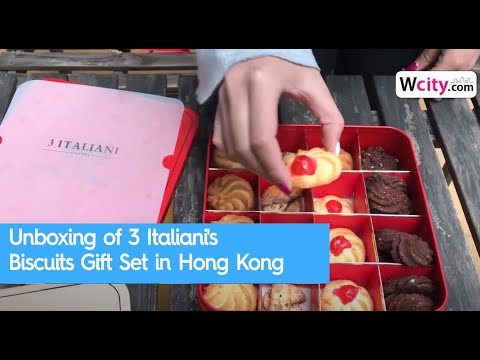Unboxing of 3 Italiani's Biscuits Gift Set