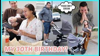 MY 30TH BIRTHDAY! PINAIYAK AKO NG MAG AMA KO! FIRST ROADTRIP NI ISLA! ❤️ | rhazevlogs